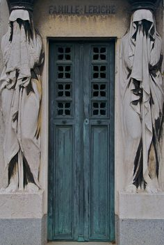 Tomb Door , Pere Lachaise Cemetery   Paris