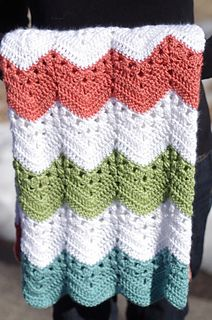 Ravelry is a community site, an organizational tool, and a yarn & pattern database for knitters and crocheters. Chevron Crochet Blanket Pattern, Crochet Ripple Blanket, Crochet Quilt, Crochet Stitches Patterns, Crochet Afghans, Chevron Baby Blankets, Chevron Blanket, Crochet Blankets, Crochet Crafts
