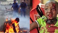 Image result for xenophobic violence in south africa 2015