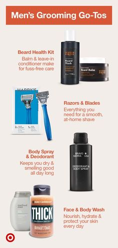 Discover men's grooming products by premium brands that include skin care essentials, beard health kits, body spray, face wash & more. Face Wash, Body Wash, Beard Conditioner, Beard Grooming, Beard Balm, Body Spray, Male Face, Nice Body, Brand You