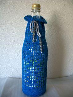 Crocheted Bottle Jacket