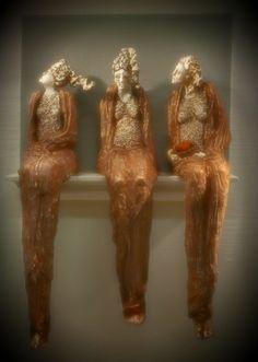Adele MacyFigurative clay sculpture