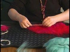 How to Make Felt Bracelets : Felt Bracelet First Layer