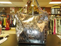 Michael Kors Tote.  At Ms. Mulligan's Consignment Boutique