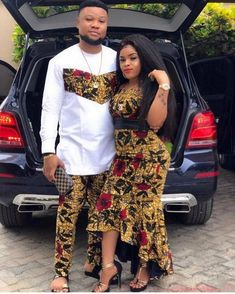 African couples clothing,African couples outfit, Africa couples wears, African w. By Diyanu Couples African Outfits, African Wear Dresses, African Clothing For Men, African Shirts, Latest African Fashion Dresses, African Print Fashion, African Women, African Image, Traditional African Clothing