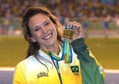 Fabiana Murer, torneio de atletismo realizado no Madison Square Gardon, em Nova York.