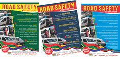 Flyers and posters for the Worcester Taxi Safety Campaign 2019