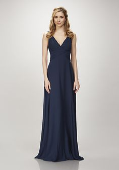 THEIA Clary in French Blue Bridesmaids