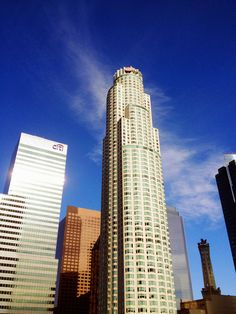 US Bank Tower is the tallest building west of Chicago and is in Los Angeles, California.