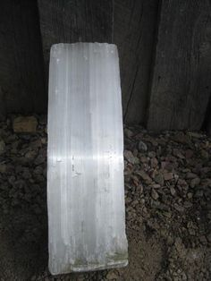 16 1 2 Selenite Free Shipping Usa Crystal Fireplace Log