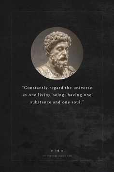 infj - marcus aurelius (121 – 180) a roman emperor, considered one of the most important stoic philosophers