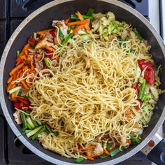 Simple Yakisoba Noodles Recipe - Momsdish Small Cabbage, Cabbage Head, Yakisoba Noodles Recipe, Japanese Noodle Dish, Beef Lo Mein Recipe, Asian Recipes, Ethnic Recipes, 2000 Calorie Diet, Chinese Recipes