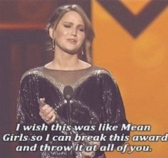 Jennifer Lawrence everybody...  I knew I loved her for a reason...
