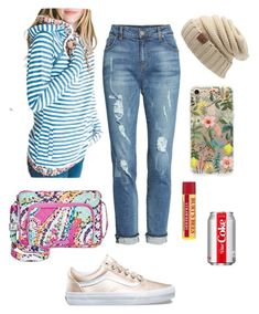 Blue jean baby by bethcp14 on Polyvore featuring polyvore, fashion, style, KUT from the Kloth, Vera Bradley, RIFLE, Burt's Bees and  clothing  #mindymaesmarket #dreamcloset