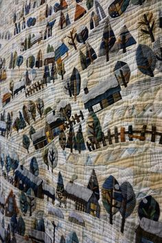 Koala's place - CrossStitch&Patchwork & Embroidery: Tokyo International Great Quilt Festival - Part 5 Japanese Patchwork, Japanese Quilts, House Quilts, Quilt Festival, Contemporary Quilts, Applique Quilts, Japanese Culture, Quilting Designs, Textile Art