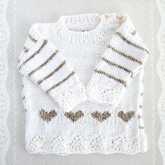 Free baby sweater pattern