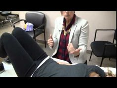 Demonstration of Pelvic Floor Muscle Exercises to prevent urinary incont...