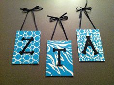 Art Big little idea diy Delta Zeta Crafts, Sorority Crafts, Painted Initials, Hand Painted, Big Little Paddles, Big Little Canvas, Fun Crafts, Arts And Crafts, Big Little Week