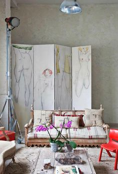 Eclectic Vintage Home interior 13