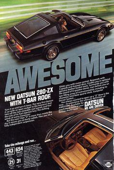 Datsun 280 ZX Ad