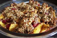 Raspberry Peach Crumble   fastPaleo Primal and Paleo Diet Recipes