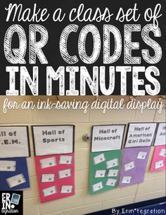 Make a class set of QR codes that link to images using batch entry QR form on Google Sheets