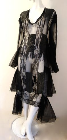 a rare attributed to Lanvin from the fabulous Misia Sert Collection (1920s) at thee hub