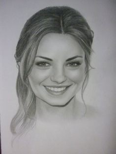 Mila Kunis Drawing by Luciano Santos