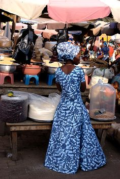 """Madina, Mercato - Ghana, West Africa"" I'm soo excited to go to African Market Places & get some awesome African Dresses :)"