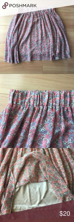 Remain (Nordstrom) | Floral Skirt | Size XS Adorable skirt in excellent used condition. High waisted with belt loops. Lined. Fits a size 0-4. remain Skirts