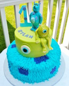 monsters inc cakes | Monsters, Inc. Cake via Craftsy member lisascakes