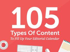 105 types of content
