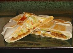 Homemake Crunchwrap Supremes.  Vegan friendly options.  I wonder if I can also try to make this with some type of gluten free burrito shell?  It may be worth a shot.