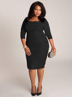 Felina Plus Size Dress in Black