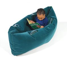 Abilitations Integrations Pea Pod Inflatable Student Calming Station - Junior Size - 48 Inches - Green - SCHOOL SPECIALTY