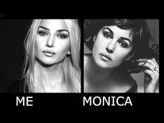 Monica Bellucci transformation Makeup مكياج مونيكا بلوتشي ،حنان النجاده - YouTube