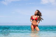 JoJo Fletcher Models a Hot Red Bikini That's 'Meant to Be Noticed'