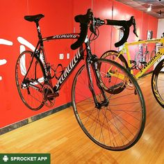 2009 Specialized S-Works Tarmac ridden by Fabian Cancellara at Tour de France. On display at the #SpecializedMuseum in #SpecializedHQ - Morgan Hill CA.  Find your bike on the Sprocket Android app. Link in bio.  #FabianCancellara  #SpecializedSWorksTarmac #09SpecializedSworksTarmac #Specialized