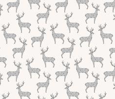Deer - Gray by kimsa