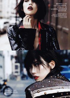 'Handsome' Girl; Tao Okamoto. Vogue China