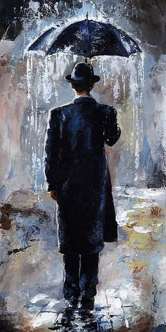 Bowler hat (Rain day series) by Emerico I. Toth