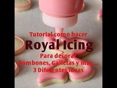 Como Hacer Royal Icing Para Decorar Bombones,Galletas, Pasteles y mas......