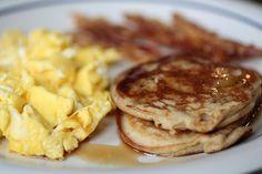 Coconut Flour Pancakes #paleo