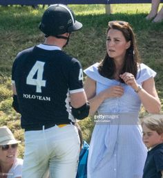hrhduchesskate: Maserati Royal Charity Polo Trophy, Beaufort Polo Club, Tetbury, June 10, 2018-Duke and Duchess of Cambridge; William played in the charity polo match in support of the Royal Marsden and Centrepoint