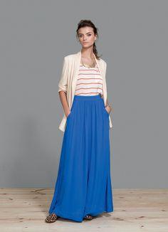 I would buy a black skirt.