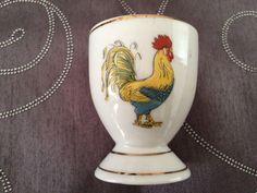 Vintage cockerel egg cup.
