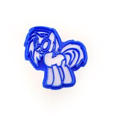 Make My Little Pony Friendship is Magic Cookies! It's one of our favorite background ponies from Ponyville. The musical unicorn, DJ Scratch! Have your very own DJ Scratch cookies with this awesome Coo