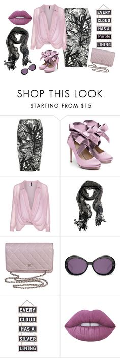 """Love of Purple"" by divalicious ❤ liked on Polyvore featuring Elizabeth and James, Liam Fahy, Manon Baptiste, Chanel, Heidi London, Silver Lining, Lime Crime and purple"