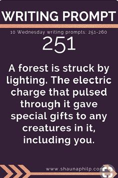writing prompt special gifts