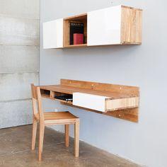 LAX Wall-mounted Desk byMASHstudios